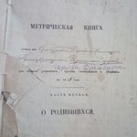 Metrical Books as a Source of Information about Children in Merchant Families of Orenburg in 1862–1869